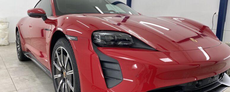 Porsche Taycan – PPF og solfilm